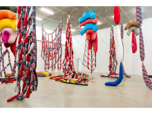 Installation view Soft Work, Bonniers Konsthall 2012. Photo: Olle Kirchmeier