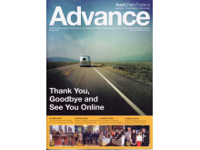 October 2014, the last printed issue of Advance magazine of the Thai-Australian Chamber of Commerce.