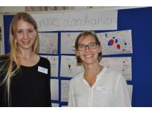 Stellten das Forschungsprojekt der EHD vor: Prof. Dr. Susanne Gerner und Johanna Zühlke.