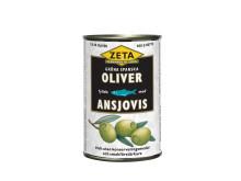 Zeta fyllda spanska oliver med ansjovis