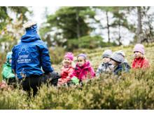 Skåne får sin första förskola speciellt byggd för utomhuspedagogik