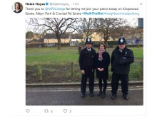 Helen Hayes MP tweet