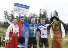 Emil Lindgren  vann Cykelvasasprinten 2018