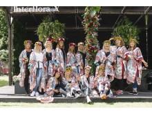Interfloras duktiga florister och personal