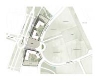 Situationskarta Trygghetsboende Hovshaga centrum