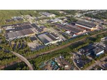 Industriområdet Finnslätten i Västerås