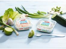 Delikat yoghurt i salat