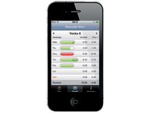 Visma Tid för iPhone