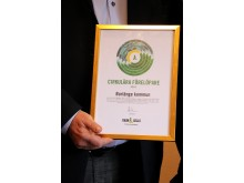 Borlänge kommuns hållbarhetsarbete uppmärksammas av Ragn-Sells