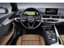 Audi A5 Sportback cockpit