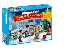 """Vorfreude auf Weihnachten mit dem PLAYMOBIL-Adventskalender """"Polizeieinsatz im Juweliergeschäft"""""""