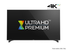 Panasonic Launches World's First Official 'Ultra HD Premium' TV at the 2016 Consumer Electronics Show.
