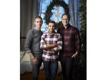 Dessertmästarnas jul får säsongsstart den 6 december 20:00 i Kanal 5. Foto: Magnus Selander/Kanal 5.