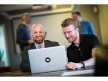 Dagfinn Haslebrekk og Thor halvor frivold Webstep