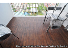 Using Accoya® Wood For Balcony Decking In Singapore