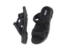 Sandal med stötdämpande sula