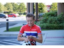 Susanne Andersen under sykkel-VM 2015