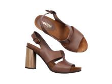 Sandaletter klossklack