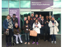 181114 Bedford College Try A Train event - at Luton Airport Parkway