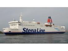 M/S Trelleborg har fått Stena Line-kostym