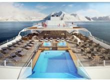 Hurtigruten Roald Amundsen Open decks Day