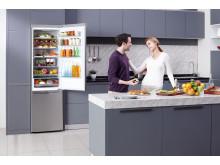 LG:s kombinerade kyl och frys