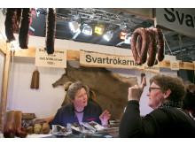 Svartrökarnas Chark & Delikatess på En Öl & Whiskymässa