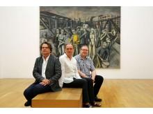 Dr. Paul Kaiser, Dr. Alfred Weidinger und Christoph Tannert (v.l.)