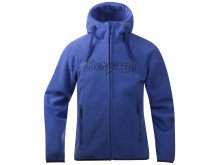 Bryggen Girl Jacket - Warm Cobalt/Red