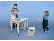 Vårutställning 2018, Active Primary School Furniture, Michael Wetzel, Industridesignskolan, Lunds universitet