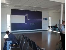 Jotun board på OSL Gardemoen