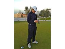Jonnie Eriksson, coach för svenska pojklandslaget i golf, använder appen MindYourPerformance