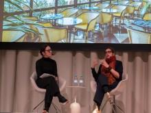 Hanna Nova Beatrice och India Mahdavi, Stockholm Design & Architecture Talks 2018