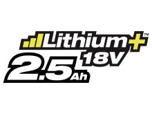Ryobi Lithium+ 2,5 Ah batteri