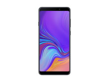 Galaxy A9_Front_Caviar Black