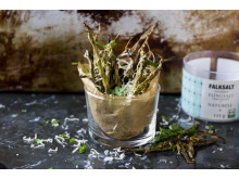 Haricots verts frites