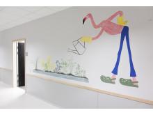 Väggmålning Sanda grund- och gymnasiesärskola 3