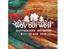 Way Out West 2019 - artwork - Facebook/Instagram
