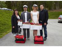 Stolta Stipendiater på Tannbergsskolan i Lycksele