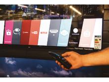 Smarta tv-apparater och strömmat innehåll