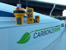 Hi-res image - Ocean Signal - Ocean Signal has supplied ocean rowing team Carbon Zerow with four rescueME PLB1s, a SafeSea E100G EPIRB and a SafeSea V100 VHF radio