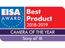 EISA Award Logo Sony a7 III