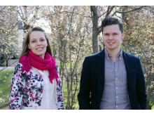 Ruut Kiiski och Andreas Eriksson, masterstudenter i orkesterdirigering vid Kungl. Musikhögskolan (KMH) som gör sin examenskonsert med Norrköpings Symfoniorkester 29/4 2015