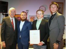 Pristagarna till Bert-Inge Hogsveds pris för bästa entreprenörskap 2018
