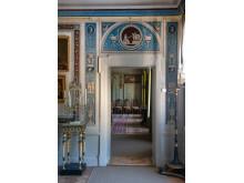 Blå salongen i Stora huset på Julita gård