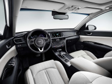 Kia Optima Sportswagon PHEV - interior