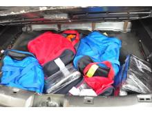Nissan Qashqui drugs haul