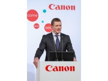 Jeppe Frandsen, Executive Vice President of Industrial & Production Solutions, Canon Europe