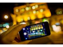 Pass på mobiltelefonen i utlandet