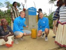 Medleys Mattias Jonsson och Hans Albrektsson besöker vattenprojekt i Etiopien